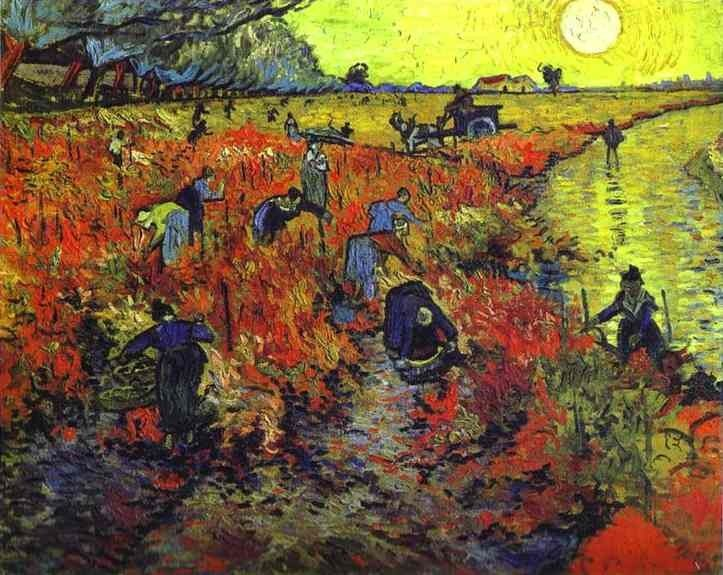 Vincent van Gogh Red vineyards