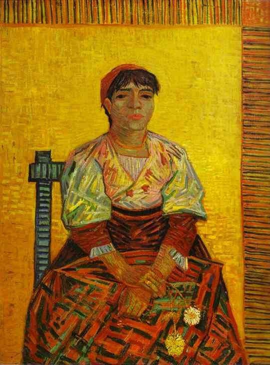 Vincent van Gogh The Italian Woman