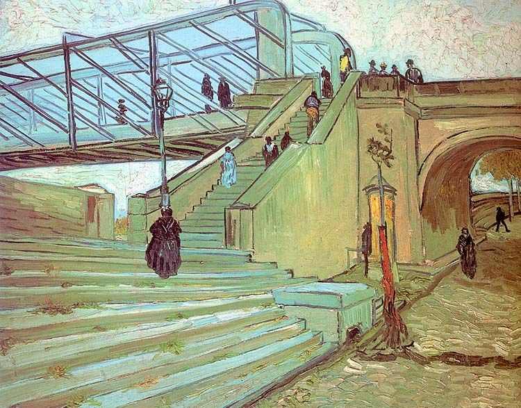 Vincent van Gogh The Trinquetaille Bridge