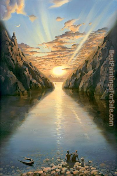 Vladimir Kush tide of time