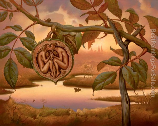 Vladimir Kush walnut of eden