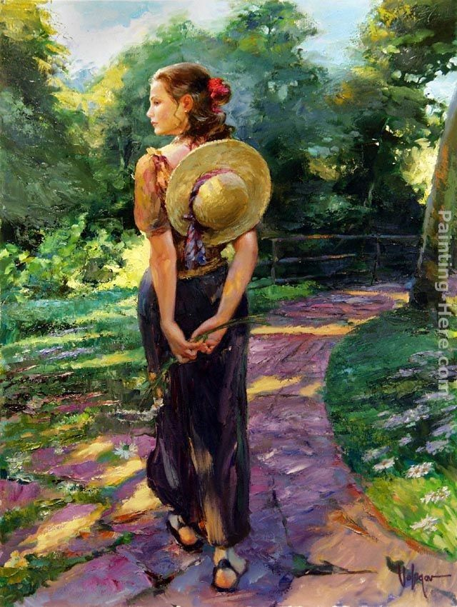 Vladimir Volegov Out For a Walk