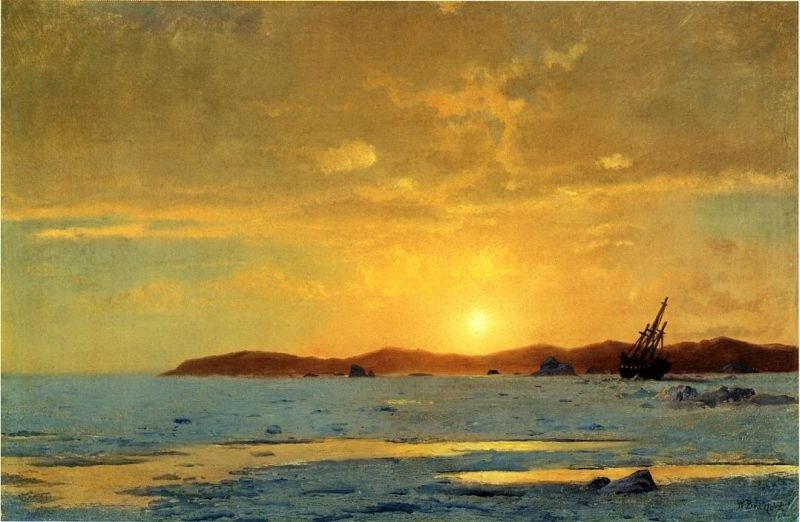 William Bradford The Panther, Icebound