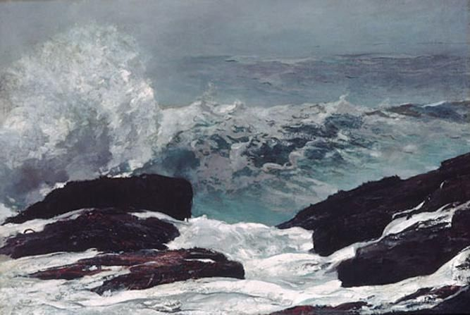 Winslow Homer Maine Coast