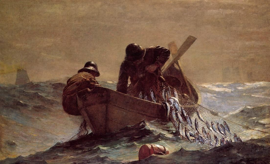 Winslow Homer The Herring Net