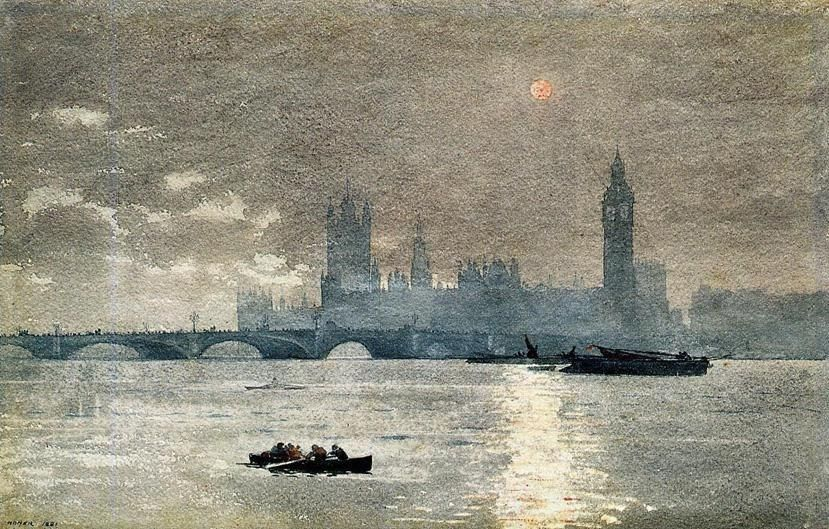 Winslow Homer The Houses of Parliament