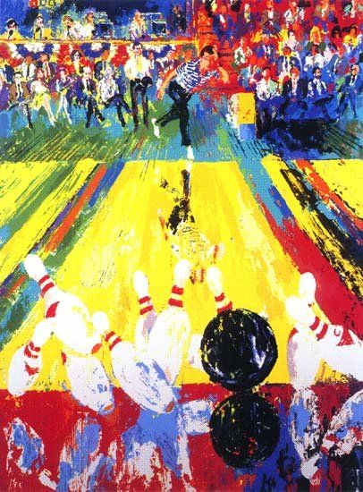 Leroy Neiman Million Dollar Strike