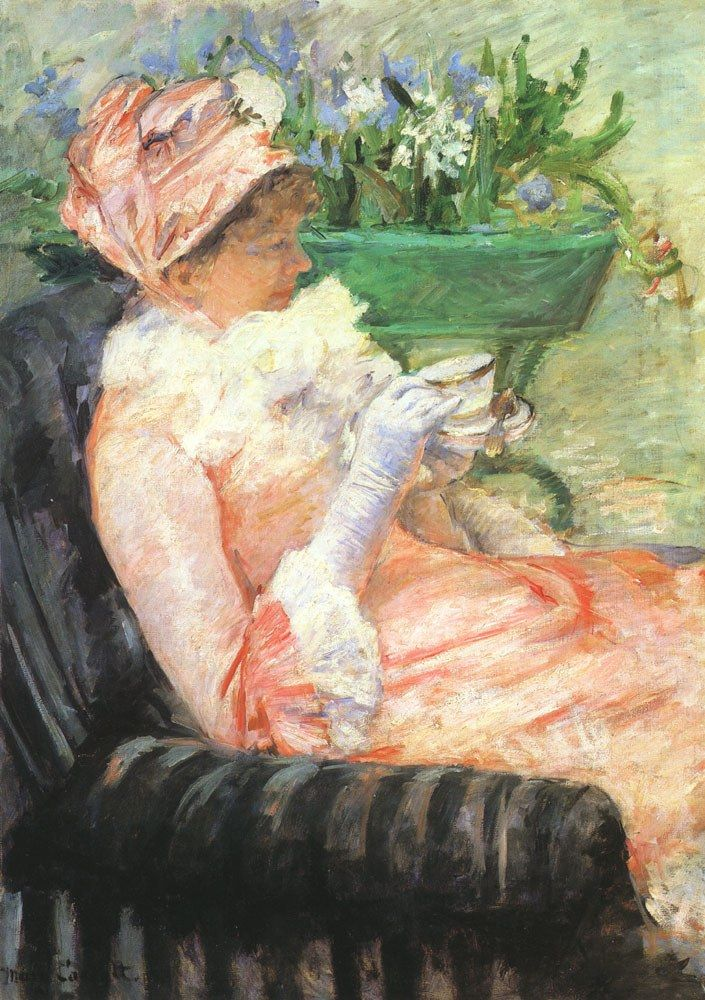 Mary Cassatt The Cup of Tea