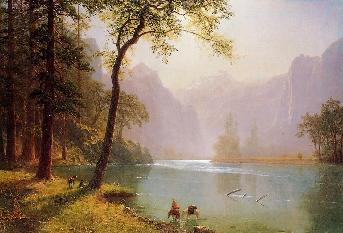 Albert Bierstadt Kerns River Valley California