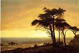 Albert Bierstadt California Coast painting