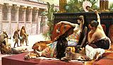 Oriental paintings - Cleopatra Testing Poisons on Condemned Prisoners by Alexandre Cabanel