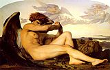 Angel paintings - Fallen Angel by Alexandre Cabanel