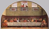 Christ paintings - The Last Supper by Andrea del Sarto