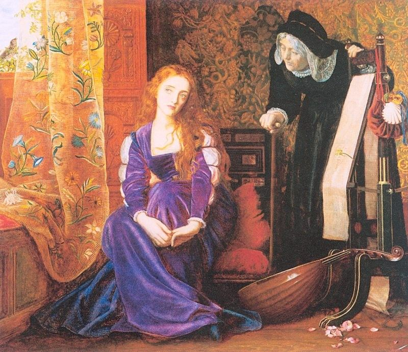 Arthur Hughes The Pained Heart