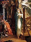 Arthur Hughes The Property Room painting