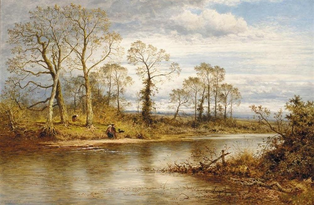 Benjamin Williams Leader An English River in Autumn