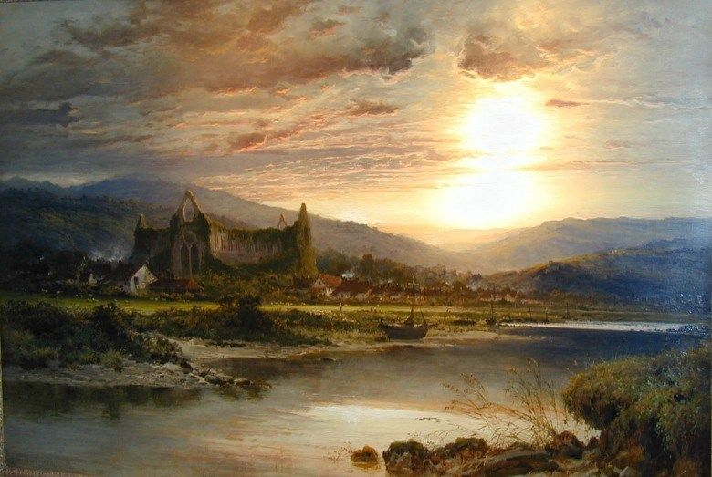 Benjamin Williams Leader Tintern Abbey
