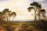 Benjamin Williams Leader Across The Heath painting