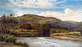 Benjamin Williams Leader The Conway Near Bettws y Coed painting