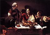 Caravaggio The Supper at Emmaus painting