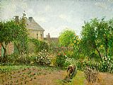 the garden of prayer Paintings - The Artist's Garden at Eragny