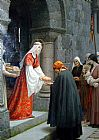 Edmund Blair Leighton The Charity of St painting