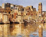 Venice paintings - Muttra by Edwin Lord Weeks