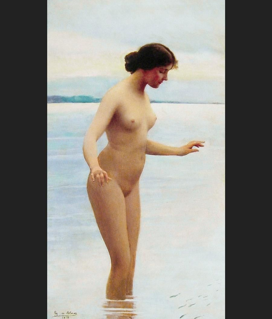 Eugene de Blaas In the Water
