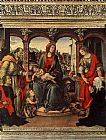 Filippino Lippi Madonna with Child and Saints painting