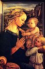 Filippino Lippi Virgin with Chilrden painting