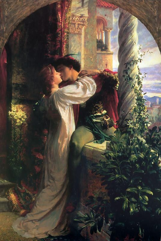 Frank Dicksee Romeo and Juliet