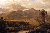 frederic edwin church Paintings - Mountains of Ecuador
