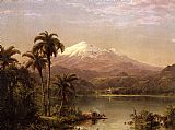 Frederic Edwin Church Tamaca Palms painting