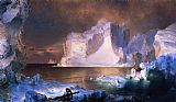 Frederic Edwin Church The Icebergs painting