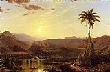 Frederic Edwin Church The Cordilleras Sunrise painting