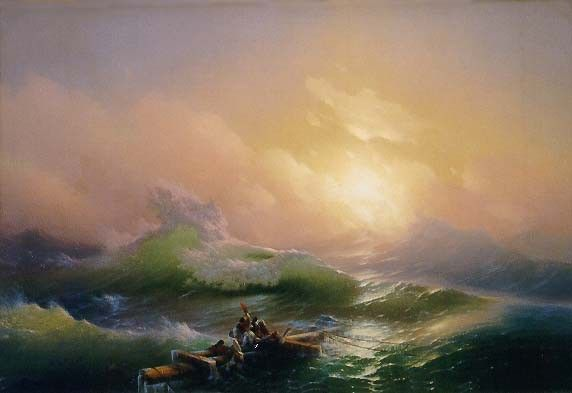 Ivan Constantinovich Aivazovsky The Ninth Wave