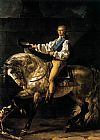 Jacques-Louis David Count Potocki painting
