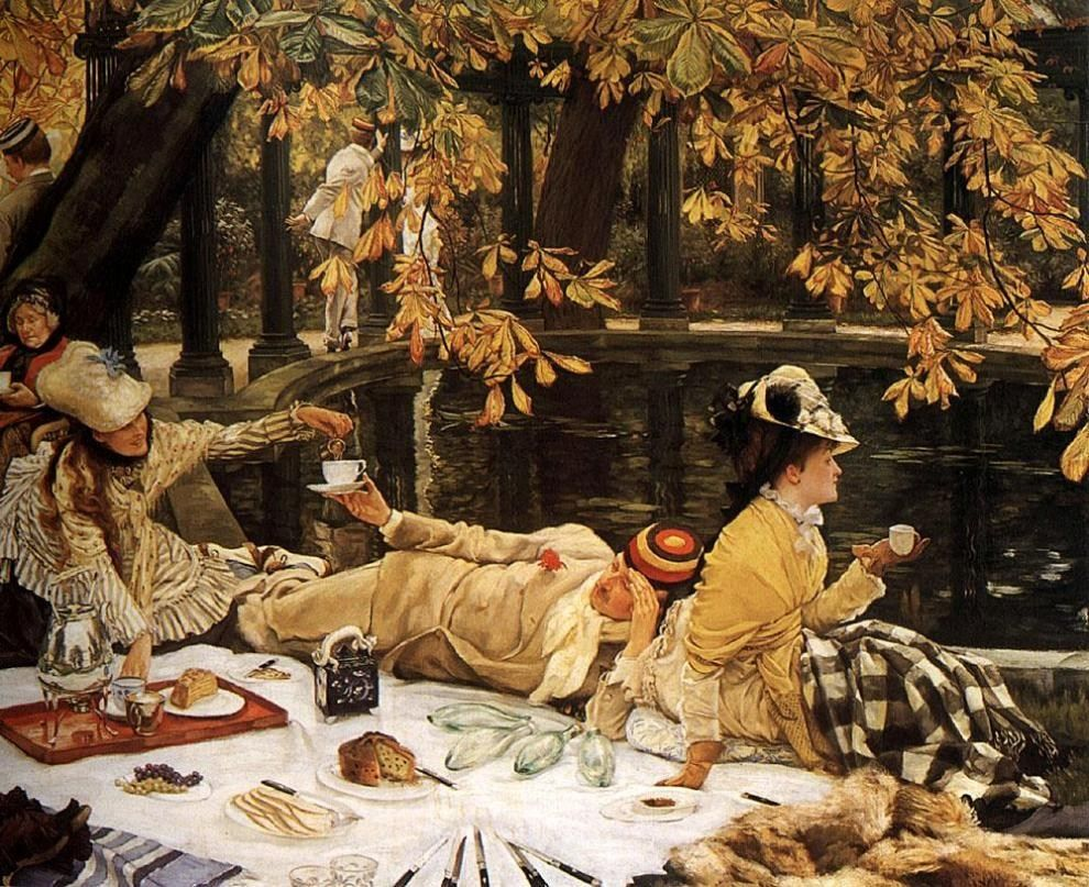 James Jacques Joseph Tissot Tissot The Picnic