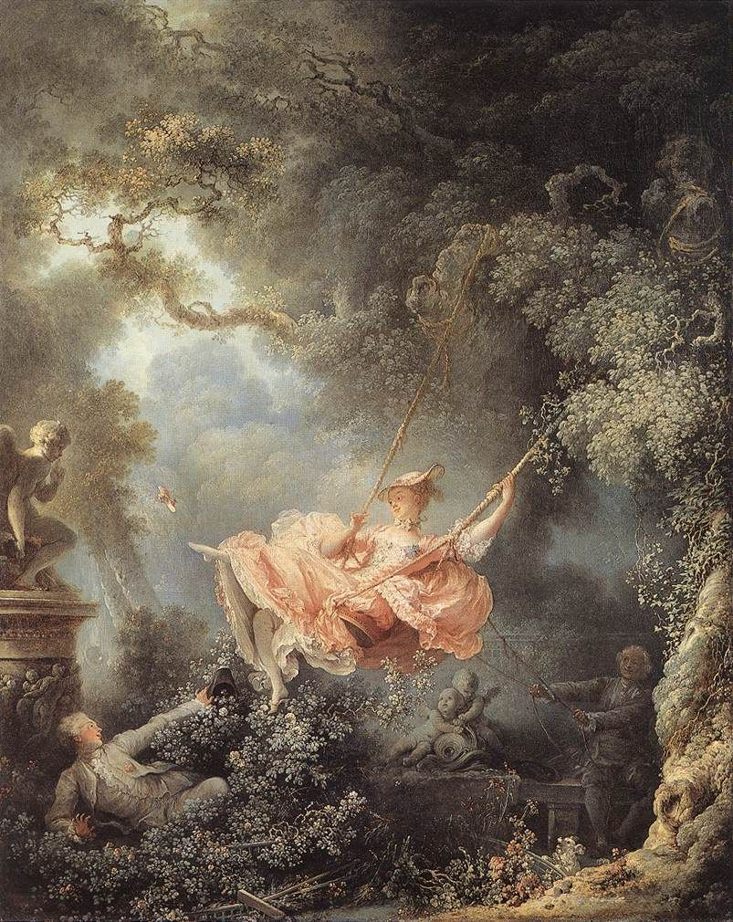Jean-Honore Fragonard The Swing