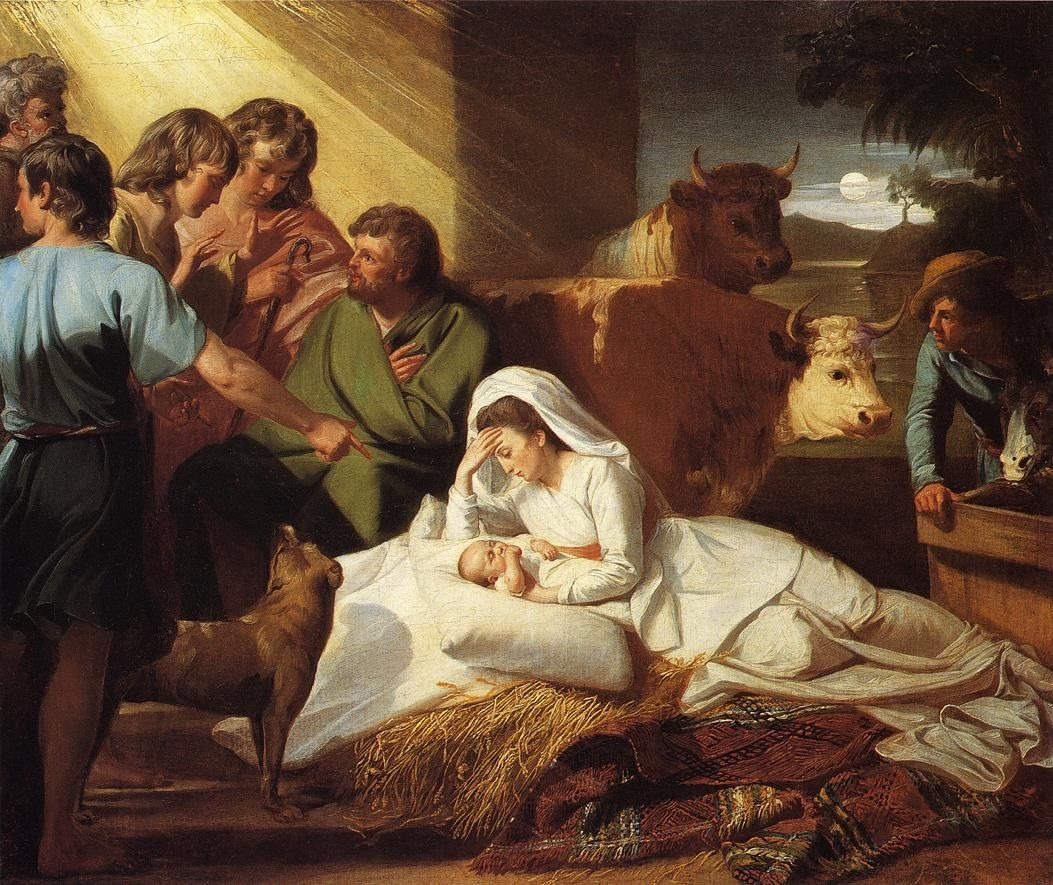 John Singleton Copley The Nativity
