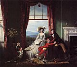 John Singleton Copley The Stillwell Family painting