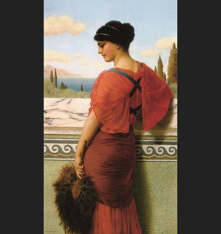 John William Godward Godward Phyleis