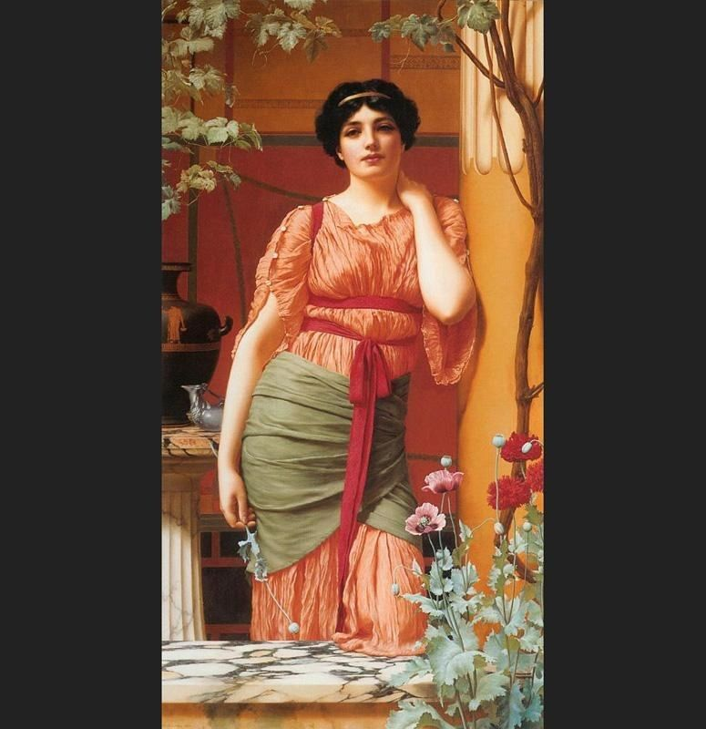 John William Godward Godward Nerissa