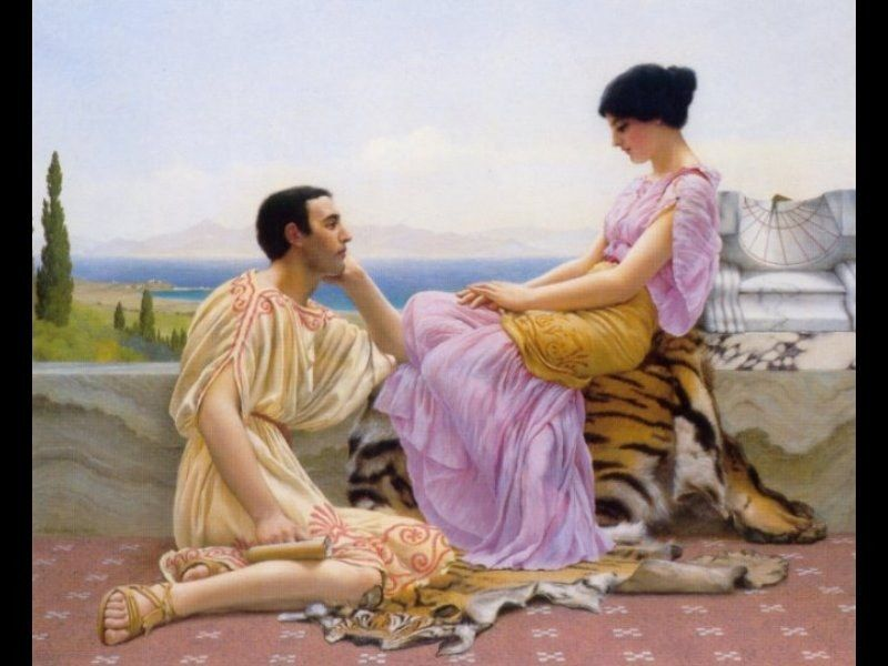 John William Godward Youth and Time