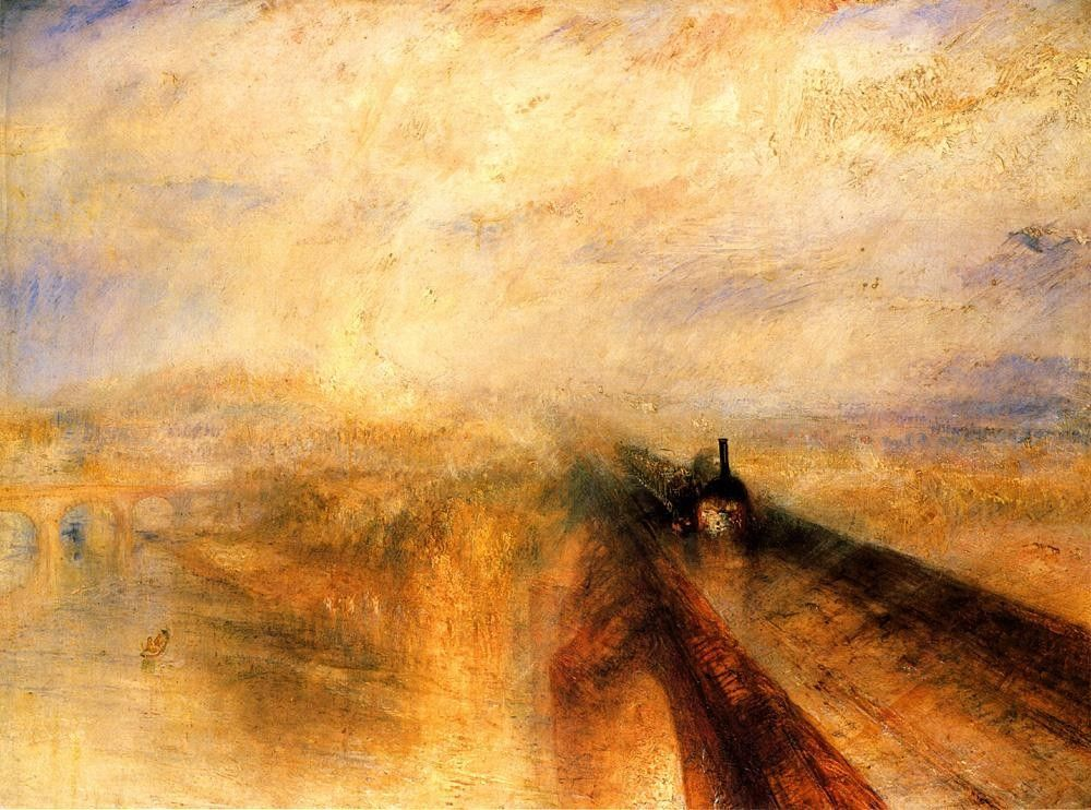 Joseph Mallord William Turner Rain, Steam and Speed - The Great Western Railway