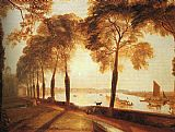 Joseph Mallord William Turner Mortlake Terrace painting