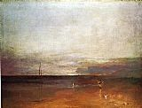 Joseph Mallord William Turner Rocky Bay with Figures painting