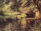 Louis Aston Knight A Sunny Morning at Beaumont-Le Roger painting