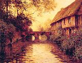 Louis Aston Knight Houses by the River painting