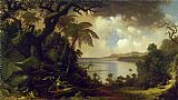 Martin Johnson Heade View from Fern Tree Walk, Jamaica painting